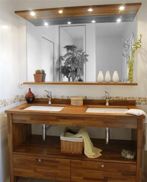 bois exotique pour salle de bain moderne construire ma