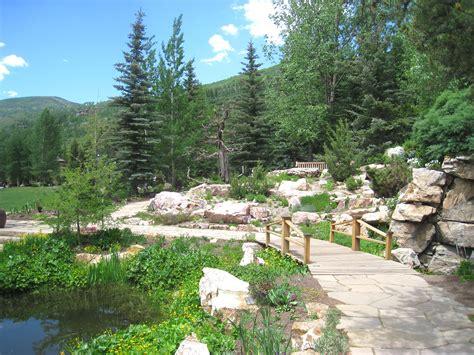 gardens at vail file betty ford alpine gardens vail co bridge jpg