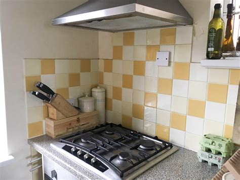 kitchen tiles paint a and easy kitchen update using tile paint lovely 3346