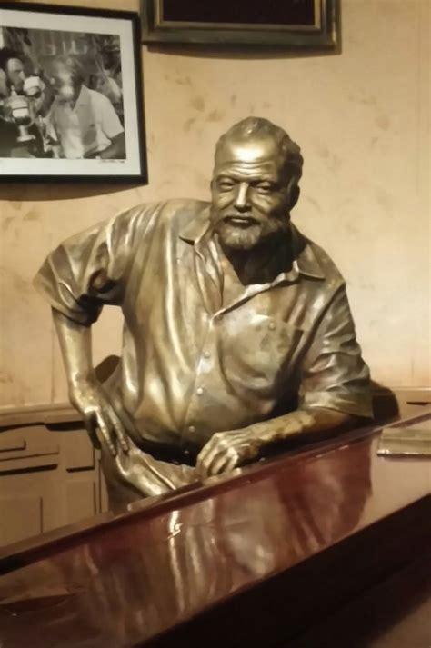 hemmingway havana ernest hemingway landmark statues