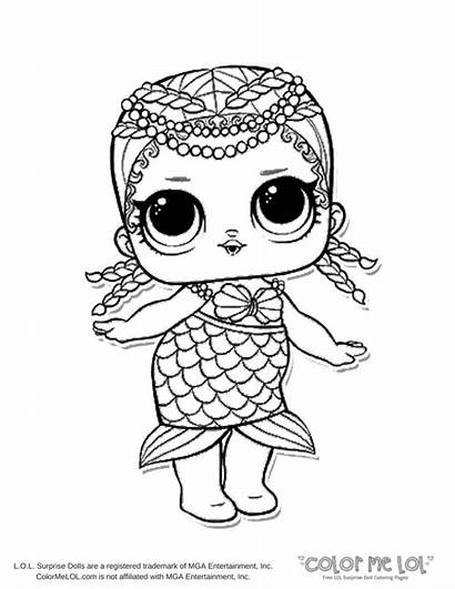 Lol Coloring Pages Doll Printable Surprise Getdrawings