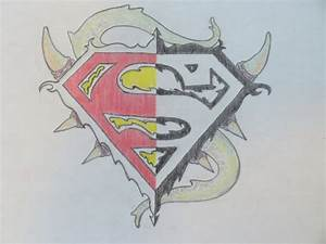 How to draw superman logo ( MUST WATCH ) - YouTube
