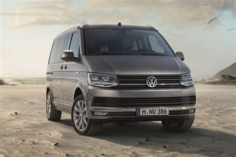 Vw T6 California by New Vw T6 Based California Cer Unveiled Carscoops