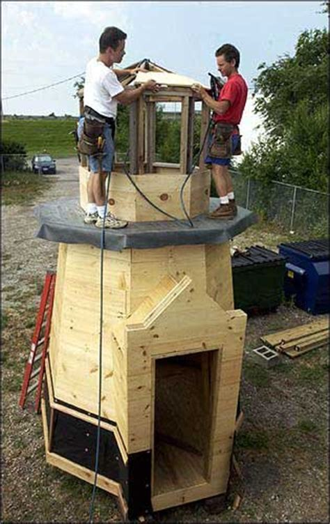 woodwork lighthouse playhouse plans  plans
