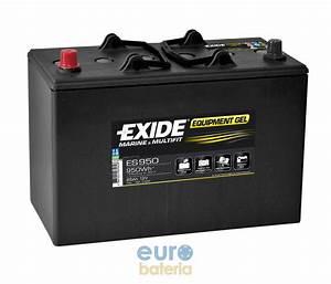 Batterie Exide Gel : battery exide gel 12v 85ah g85 es950 ~ Medecine-chirurgie-esthetiques.com Avis de Voitures