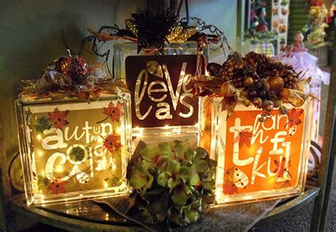 Fall Decorations Pinterest Style  Blessed Beyond Words