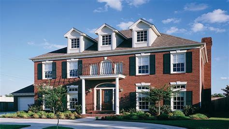 brick colonial house plans brick colonial house brick colonial homes