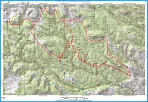 red river gorge hiking trails map travelsfinderscom