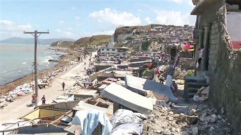 haiti death toll rises  aftermath  hurricane matthew