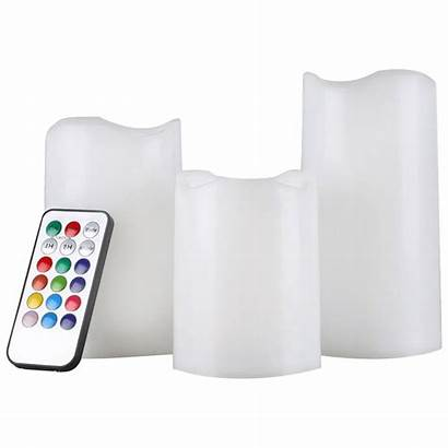 Flameless Candles Remote Changing Pack Amore Led