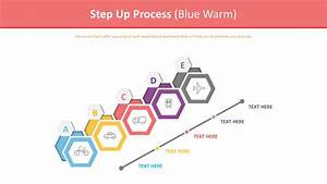 Step Up Process Diagram  Blue Warm