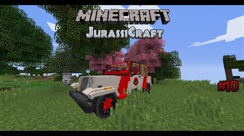 minecraft jeep wrangler minecraft jurassicraft 10 der jeep wrangler youtube