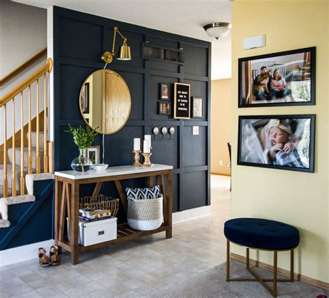 3 Hour Home Makeover by Our Modern Navy Small Entryway Makeover Small Stuff Counts
