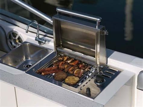 Boat Cockpit Grill by Research Sea Boats 290 Sundeck On Iboats