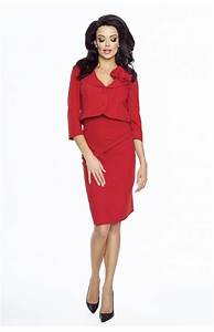 red dress suit km km162r idresstocode online boutique With tailleur robe femme
