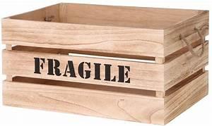 Cagette En Bois : cagette en bois brut fragile lot de 2 ~ Teatrodelosmanantiales.com Idées de Décoration