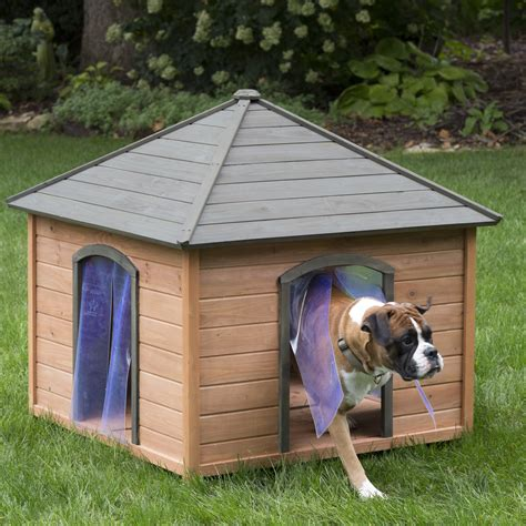 house dogs boomer george large gazebo house with free doors