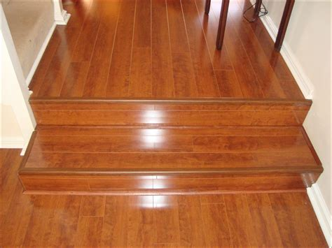If you float lvp over hardwood and run into this a standard stair nose transition usually won't work. Costco Vinyl Plank Flooring Reviews | Taraba Home Review