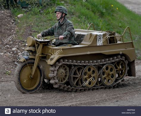 Military Motorcycle Stock Photos & Military Motorcycle