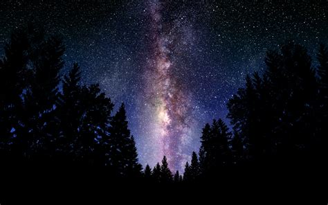 The Milky Way Galaxy Wallpaper Background Image