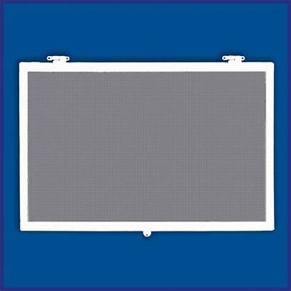 Window Aluminium Stand Screen Commercial Hinged Flyscreen