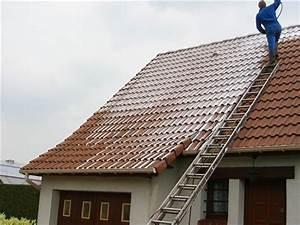 Demoussage Toiture Ardoise : d mousser une toiture nettoyage et entretien ~ Premium-room.com Idées de Décoration