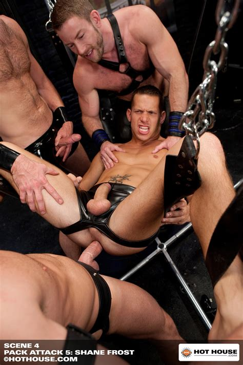Shane Frost Banged Leather Party At Suck A Boner