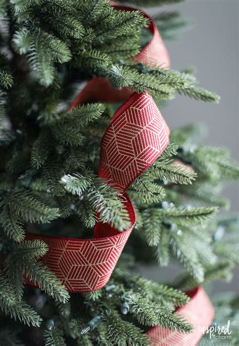 how much ribbon for a christmas tree tree ribbon tips and tricks for styling