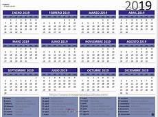 Calendario 2019 4 Imagenes Educativas
