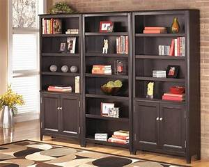 Carlyle Large Door Bookcase - Contemporary - Bookcases ...