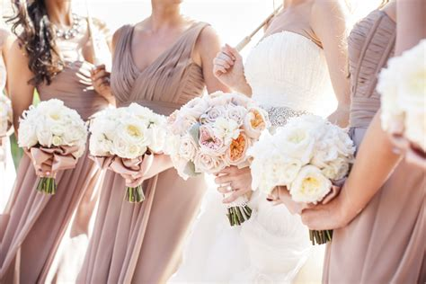 Taupe Bridesmaids Dresses Elizabeth Anne Designs The