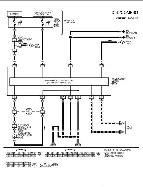 nissan micra wiring diagrams 2003 2005 11 pdf