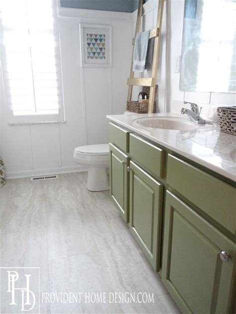 Groutable Vinyl Tile In Bathroom by And Guest Bathroom Makeover Bathroom Vinyl Tile