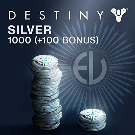 Destiny 1000 (+100 Bonus) Destiny Silver  PS4 [Digital Code]