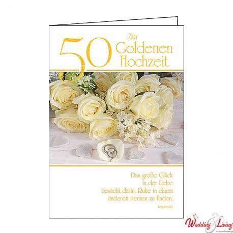 glückwunschkarten zur goldenen hochzeit gl 252 ckwunschkarte quot zur goldenen hochzeit 50 quot
