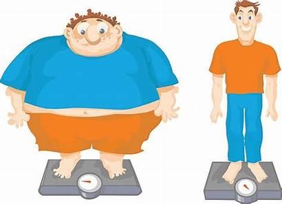 Fat Thin Cartoon Clip Slim Vs Belly