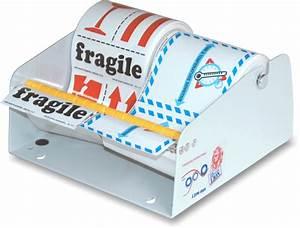 Dispenser For Paper Labels  Fits Multiple Rolls  Totaling