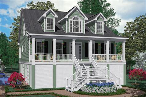 southern heritage home designs house plan    edisto