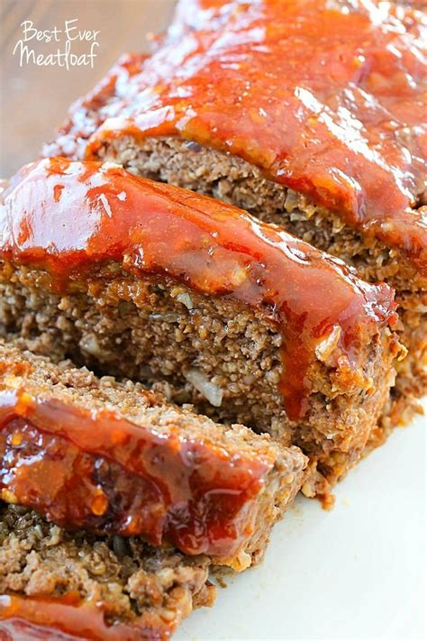 best dinner recipes best ever meatloaf recipe yummy healthy easy