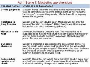 Macbeth Good Vs... Macbeth Summary
