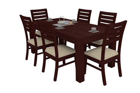 dining table with 8 chairs alana mahogany dining table set 6 seater teak wood