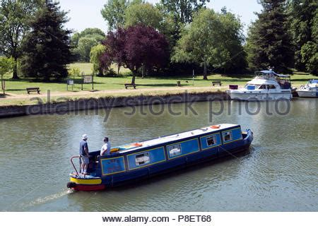 Abingdon Boat Trips by River Thames At Abingdon On Thames Uk Stock