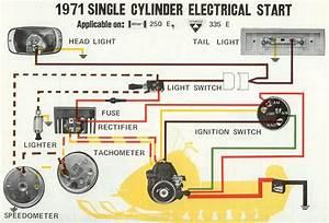 Add Electric Start To A 335 - Vintage Ski Doo U0026 39 S