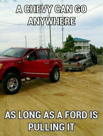 Chevy Vs Ford Memes - best 25 chevy jokes ideas only on pinterest chevy memes lifted ford trucks and ford trucks