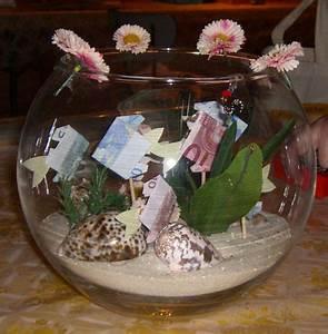 Geschenke Basteln Zur Hochzeit : geldgeschenk zur hochzeit ein goldfischglas oder sollte ich sagen ein geldfischglas ~ Bigdaddyawards.com Haus und Dekorationen
