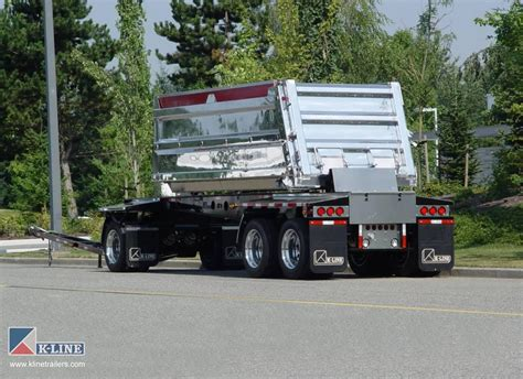 Car And Dump Truck by Truck Transfer Trailers K Line Trailers Design