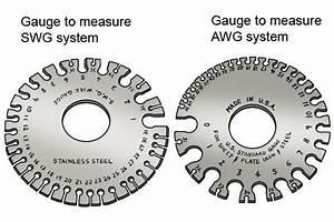 Awg Wire Gauge Standard Vs  Swg Wire Gauge Standard
