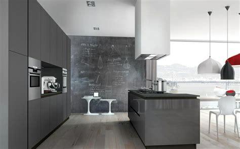 idee deco pour cuisine idée déco cuisine grise pour une ambiance harmonieuse