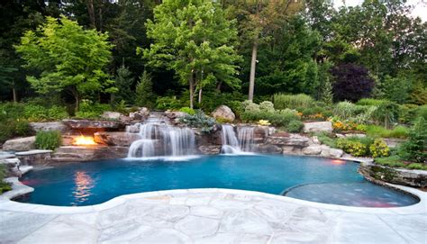 swimming pool with garden backyard garden swimming pools pools for home