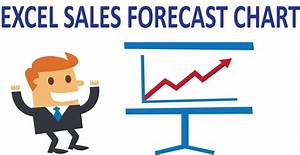 Excel charts - Show sales and forecast data in the same ...